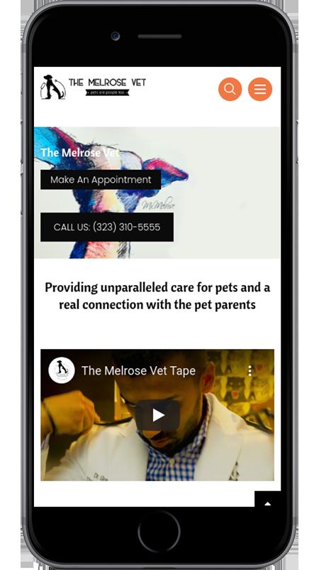 The Melrose Vet Mobile View
